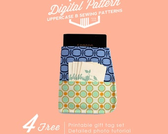 PDF Passport Sleeve Sewing Pattern - Instant Download - Passport Case Sewing Pattern - Travel Accessory - Digital Sewing Pattern