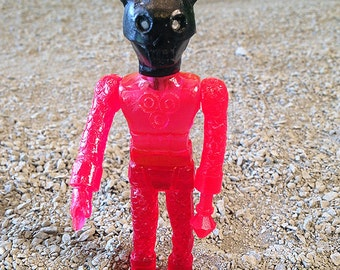 SEA-BORG MUTATION  Wave 2 Plastic Resin Figure - red/black skull