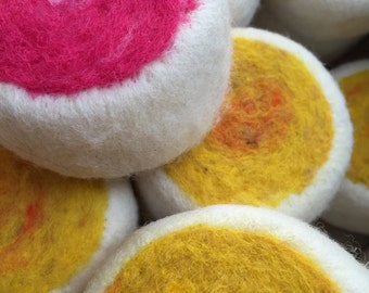 Felted Soap, Pineapple & Passionfruit