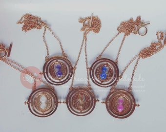 Timeturners necklace 6 different colors