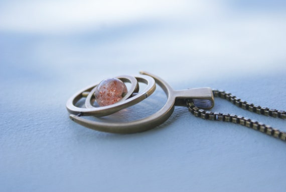 5.0 Bronze Gyroscope - sunstone (limited edition)
