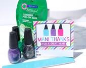 Mani Thanks Teacher Appreciation Gift Tags nail polish Instant Download pdf