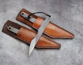 Kiridashi knife, carving knife, neck knife, edc knife