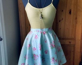 Custom Made Mini Circle Skirt (Women & Children)