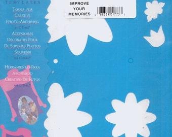 Deja Views--Mix 'N Mat Templates--Spring Flower