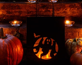 Ghost Halloween Lantern Bags, perfect party decoration - luminary