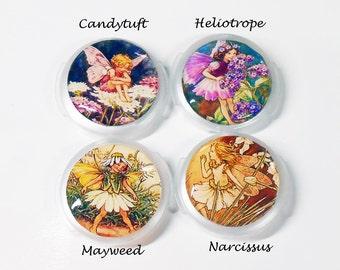 Nurse Id Tag-Your Choice Stethoscope ID Tag-Nurse Id Tag-Flower Fairy-RN Stethoscope Tag-NICU Nurse Id-Medical Staff-Pediatric Badge