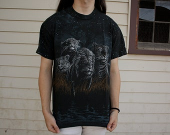 90s WILD CATS Double Sided Tshirt