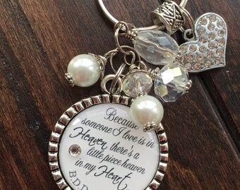 Personalized pet cremation necklace no longer by my side but for Father daughter cremation jewelry