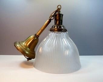 Antique Pendant Light Fixture - Vintage Home Restoration Remodeling - Antique Lighting - Home Remodeling - Chandelier