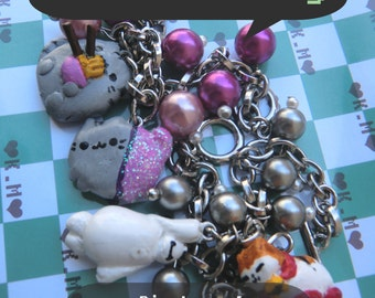 Bracelets - Big hero 6 - Pusheen