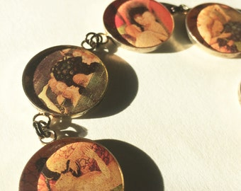 Earthly Delights Bracelet - Hieronymus Bosch Art Pictorial Jewelry