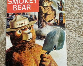 The True Story of Smoky Bear Comic Book, No. 26 Very Fine Condition