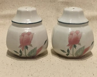 Salt and Pepper Shakers, Mikasa Silk Flowers, Mikasa Salt and Pepper Shakers