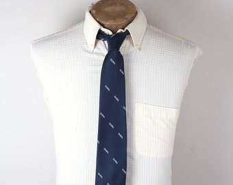 1980s Golden Clasp Prince Consort Tampa Airport Airline Aviation Uniform Collectible Neckte tie