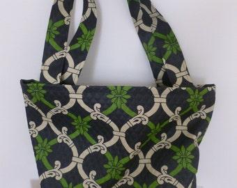 Black Print Tote/Gift Bag
