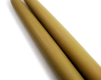 Perfumed Soy Tapers, Woods. Essential Oil Blend Soy Taper Candles. All Natural. 8 inch, Pair.