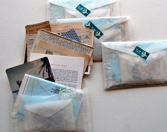 Travels from Afar Vintage Travel/Vacation Themed Ephemera Kit, 20+ items