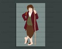 Bilbo Baggins print – The Hobbit – The Lord of the Rings – 6 x 4 art print