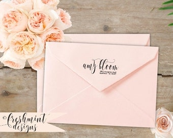 Calligraphy Return Address Labels Printable Return Address
