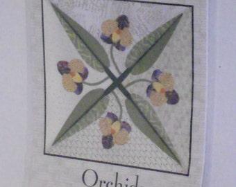 Orchid block pattern