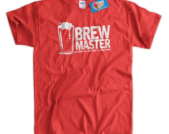 Father's Day Tshirt Brew master T-Shirt Beer Home Brew Tshirt Beer Ale Cider Father's Day Funny T-Shirt Gifts For Dad Mens Ladies Womens