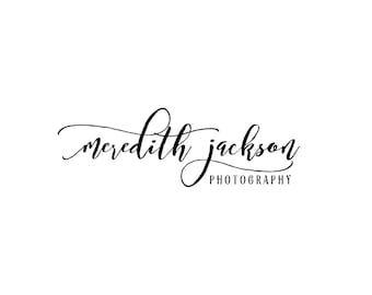 Premade Photography Watermark Logo Design - Typography logo design - Photography Watermark - Logo Watermark - Business Branding