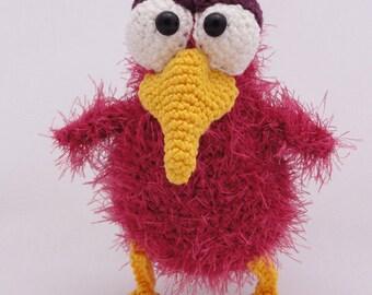 Amigurumi Crochet Pattern - Rosie the Raven
