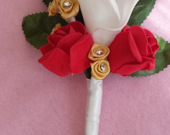 Wedding Corsarge, Button Hole, Boutonniere, Wedding Flowers, Wedding Accessories, Grooms buttonhole, Father of the Bride, Corsages