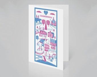 Camberwell, London card