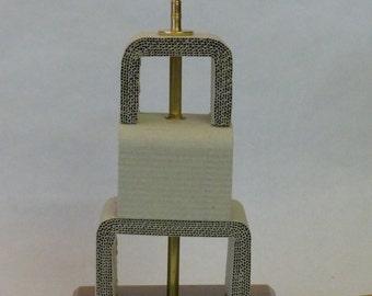 Corrugated Cardboard Deco Table Lamp