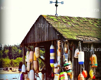 Lummi Island; Travel Photography; Fishing Cabins; Digital Download; Coastal Living