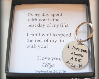 GROOM gift from bride, wedding day gift to groom, from bride to groom, wedding keepsake to groom
