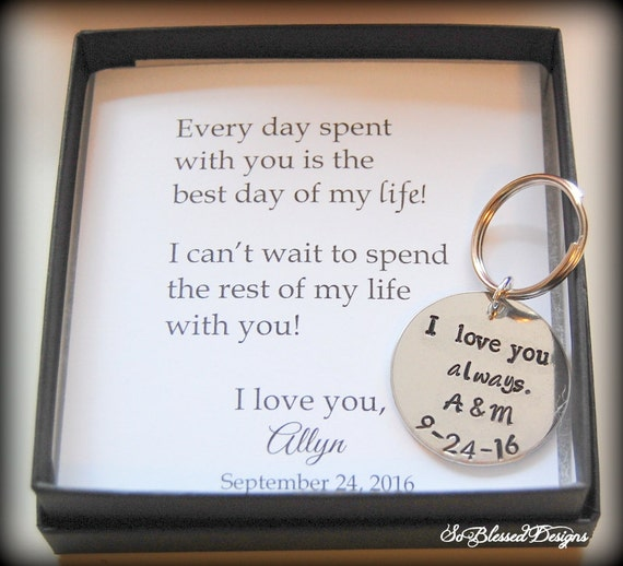 GROOM gift from bride, wedding day gift to groom, from bride to groom ...