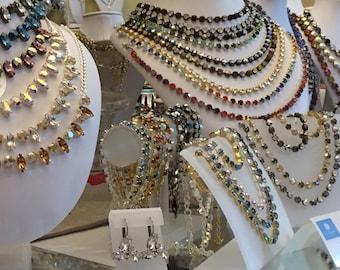 Swarovski Crystal Custom 6mm Necklace