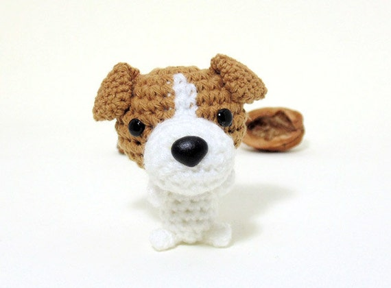 Amigurumi Jack Russell Terrier plushie Jack Russell by ...