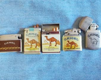 Vintage Camel Cigarettes Lighters