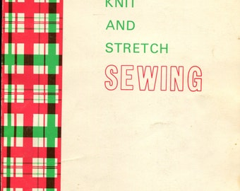 1967 Knit and Stretch  Sewing Book