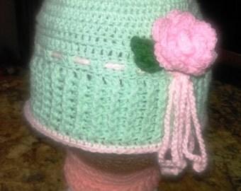 Crocheted Cloche Hat