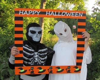 Photo Booth Frame - Halloween Photobooth - Halloween Picture Frame Prop - Photobooth Frame Prop - Halloween Party Photo - Halloween Photo