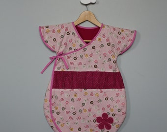 Turbulette Japanese style small gathering flowers 0/6 months