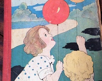 Vintage Children's Book, Vacation Days Bright Eyes Series
