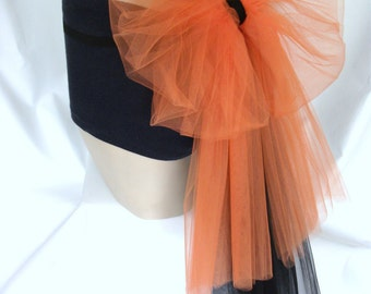 Orange , Black , Bustle , Booty , Bikini , Big , Bow , Tulle , Net , Belt , Burlesque , Hen , Bachelorette , Prom, nitelifefashion , UK