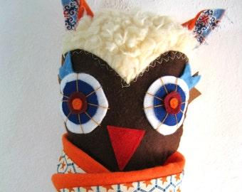 Ikaros the Owl!! Stuffed animal toy!!
