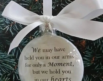 Baby loss ornament  Etsy