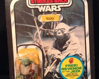 Star Wars The Empire Strikes Back Vintage Yoda