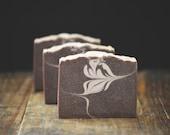 Marrakesh Mocha Soap | Cold Process Bar, Artisan, Sweet, Scented, Luxury Gift, Handmade, Chocolate Brown, Vegan, Body Wash, Swirl, Homemade