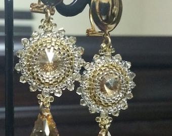 The Golden Shodow Earrings