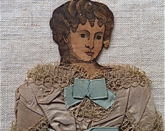 Antique Paper Doll