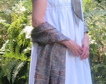Women's Regency White Cotton Dress